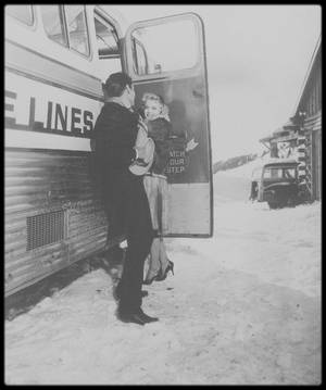 "1956 / Images du film ""Bus stop"" de Joshua LOGAN."