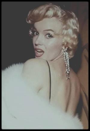 """12 Décembre 1955 / Premiere du film """"The rose tattoo"""" ; puis Marilyn donnera une conférence de presse plus tard dans la soirée..."""
