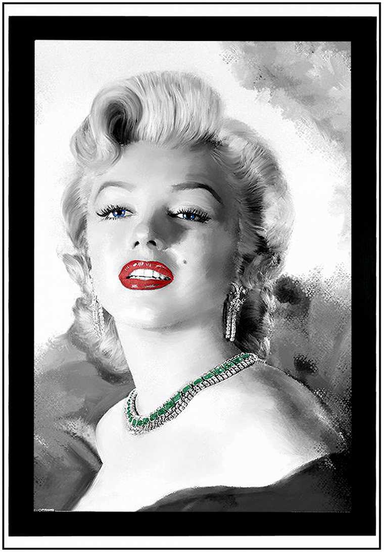 "Marilyn ""croquée"" par divers artistes ! (Part III)."