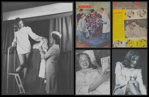 """1945 / (Part II) (Magazine sorti en 1946) Quand la jeune Norma Jeane était sollicitée pour divers publicités, comme celle vantant le modernisme d'une célèbre compagnie aérienne, la """"Douglas Aircraft Company"""" et son avion ultra moderne, le DC 6."""