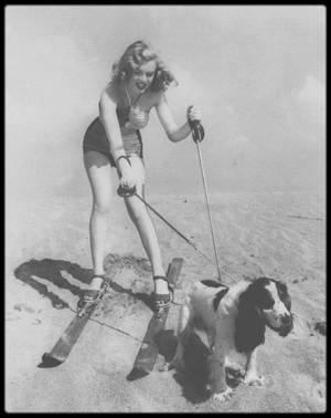 1947 / PETIT CLIN D'OEIL AUX JO D'HIVER 2018, avec ces photos publicitaires de la Fox.
