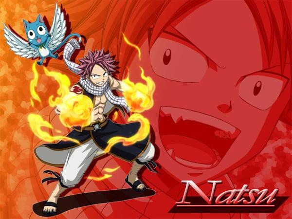Fairy tail personnages