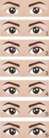 Comment mettre du l'eye liner ?  Comment mettre du fard à paupières ?