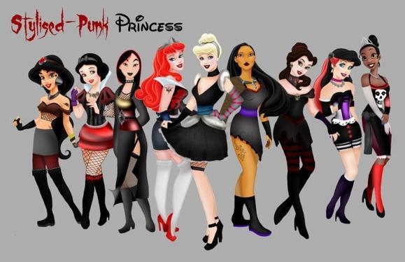 Les princesses  super FASHION  !