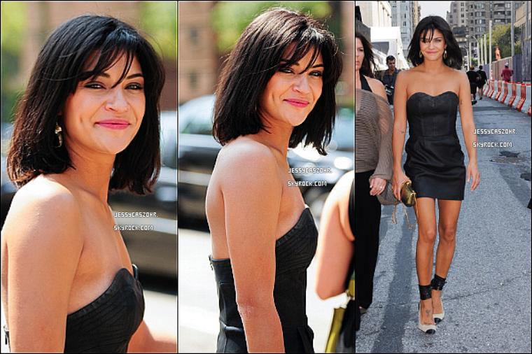 *12/09/2011 - Jessica est actuellement à NY pour la Fashion Week, elle a été vue ce rendant au show de R. Minkoff. *