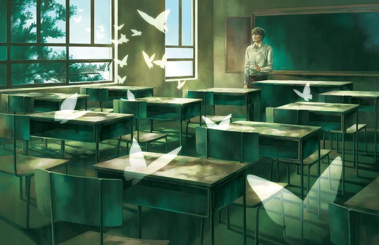 Un Lycée peu normal. II chapitre; Les apparences sont trompeuses...