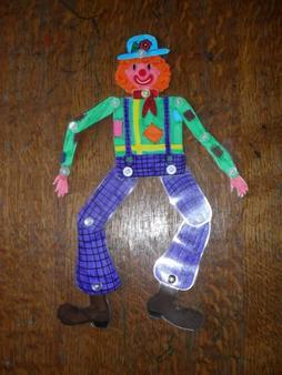un clown articulé pour Sandro