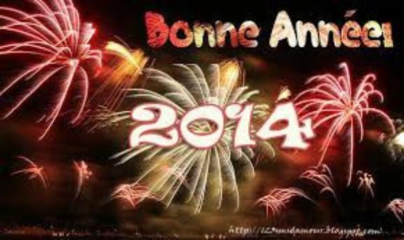 BONNE ANNEE 2014 A TOUT MES AMI(E) JE VOUS FAIS UN BISOUS