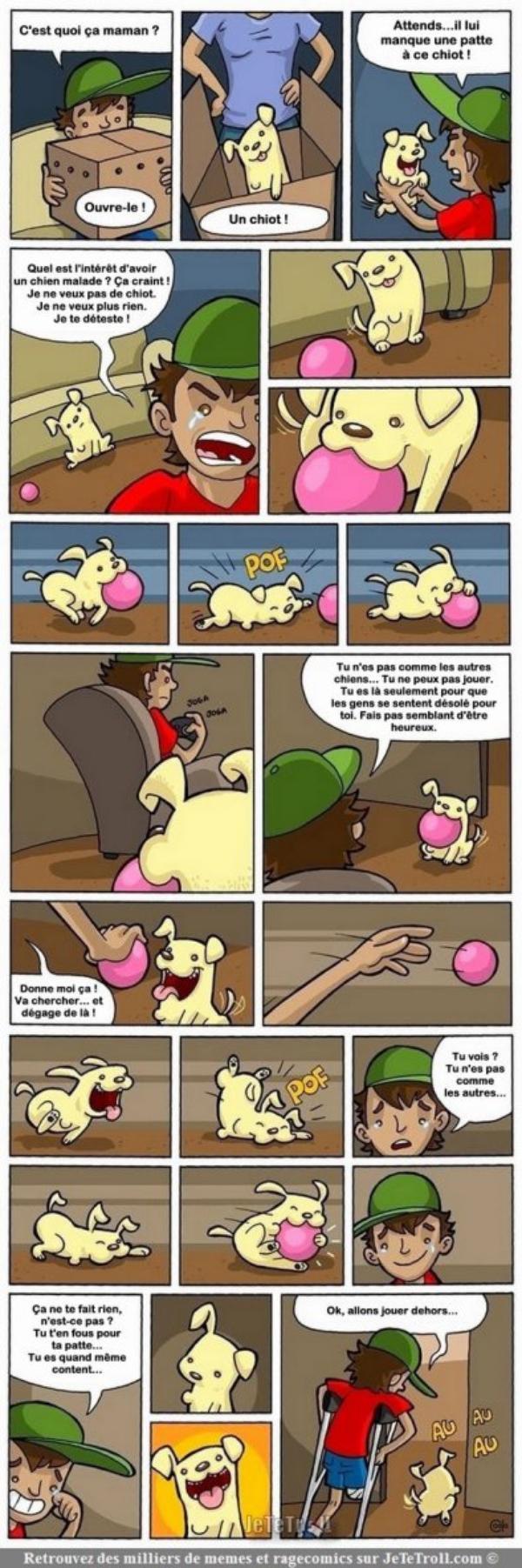 Belle leçon de vie
