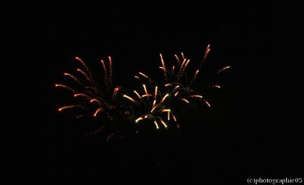 Feux d'artifices - 3 septembre2011 - fête de la Wallonie