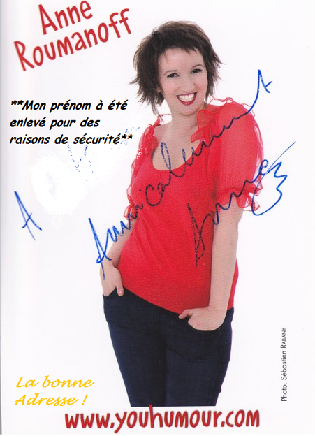 Anne Roumanoff -Mail