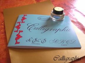 Matériel de calligraphie