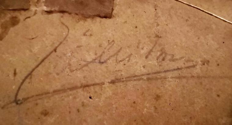 Signature à identifier
