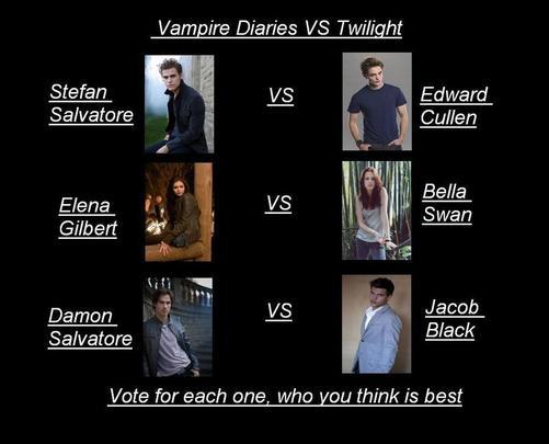 La battle des vampires!