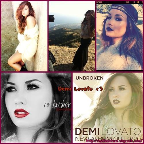 Photoshoot Demi Lovato pour Unbroken