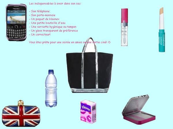 Ce qu'il faut avoir dans son sac à main