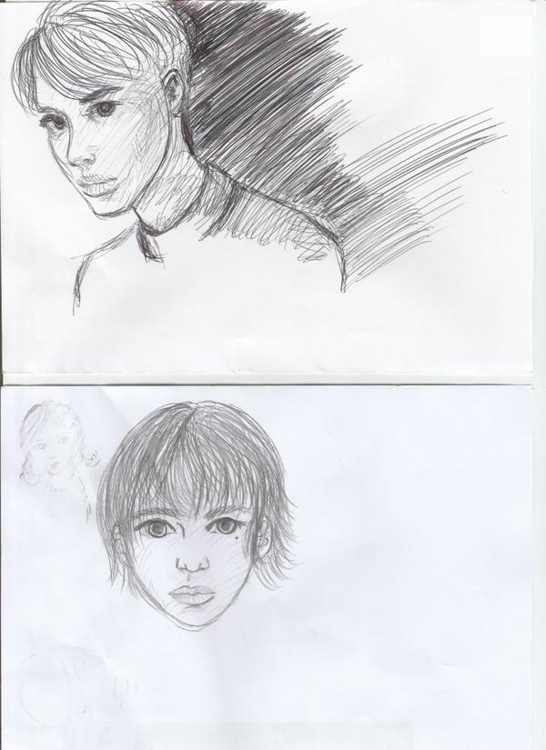 Depuis que je suis obsédée par les BJD tous mes dessins leurs ressemblent !