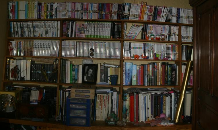Ma bibliothèque Manga