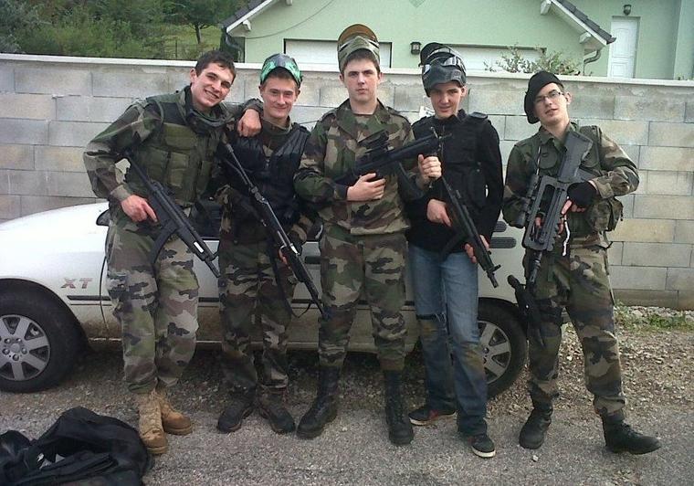 L'Armée Française se met au AirSoft lool