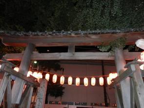 Matsuri de quartier.