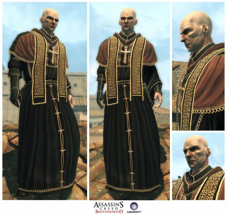 Assassin's Creed Brotherhood : Le Prêtre