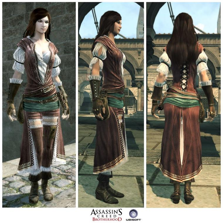 Assassin's Creed Brotherhood : La Courtisane