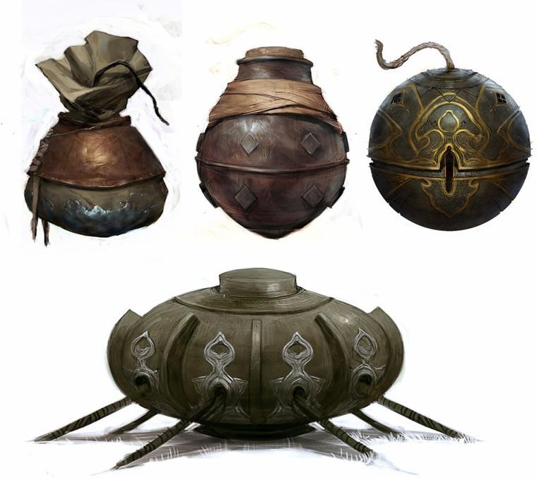 Assassin's Creed Revelations : Artwork Bombes