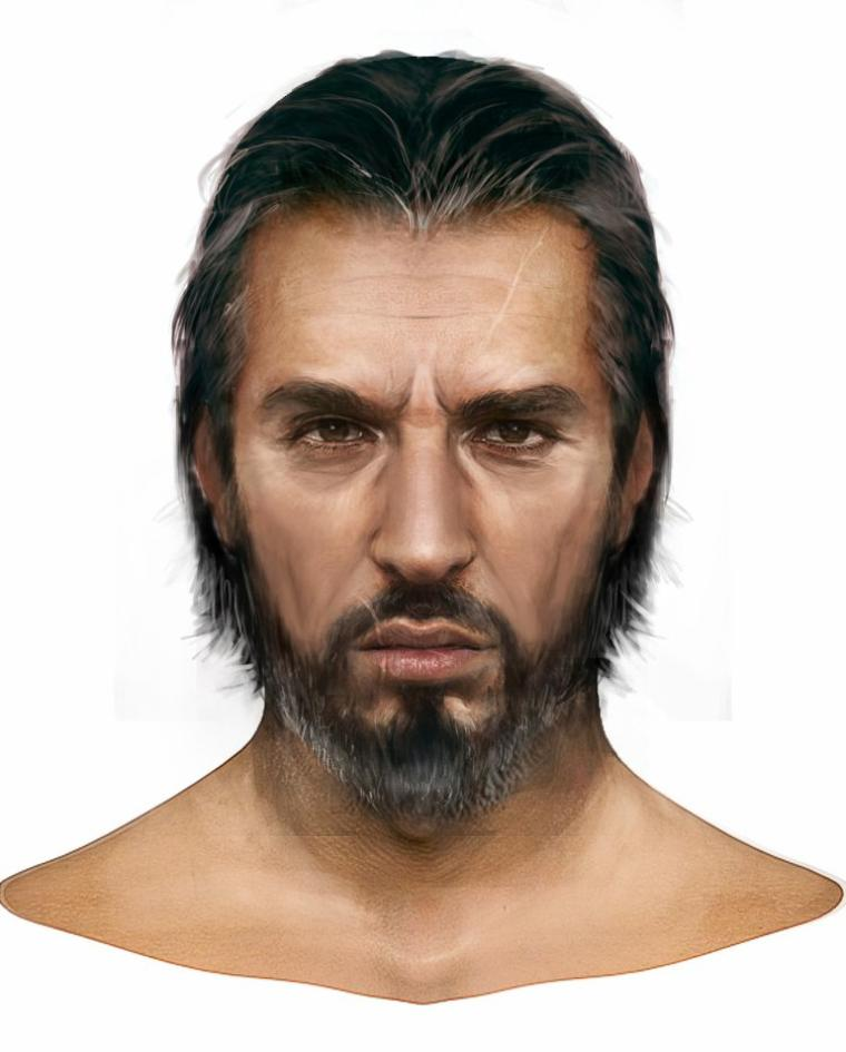 Assassin's Creed Revelations : Artwork visage d'Ezio