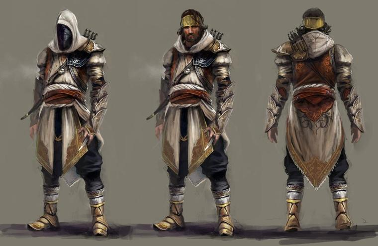 Assassin's Creed Revelations : Artwork Yusuf