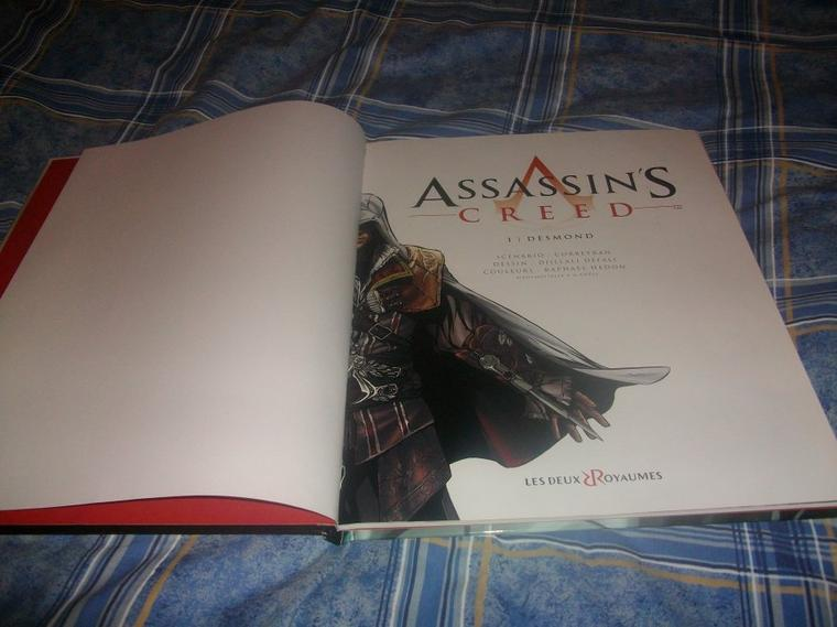Assassin's Creed : Ma collection-Assassin's Creed Tome 1 Desmond