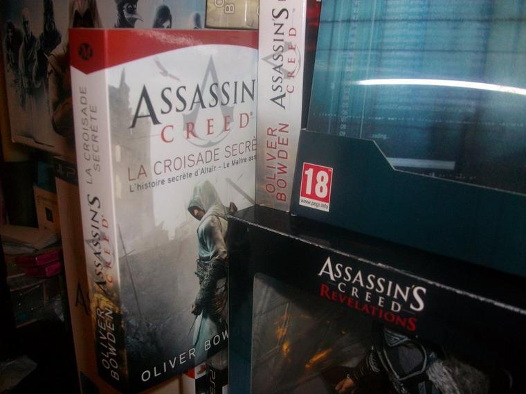 Assassin's Creed : Ma collection-Roman d'Oliver Bowden
