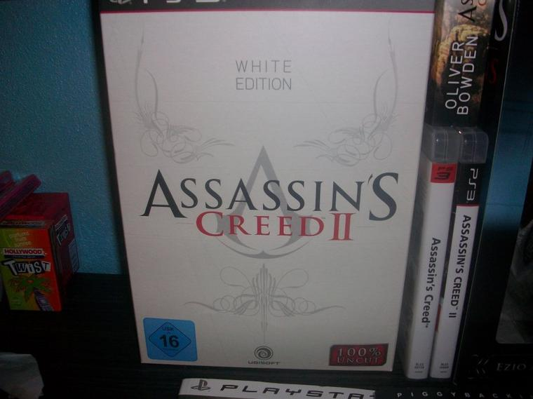 Assassin's Creed : Ma collection-Assassin's Creed II White Edition