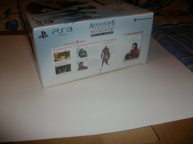 Assassin's Creed : Ma collection-Assassin's Creed Brotherhood Codex Edition
