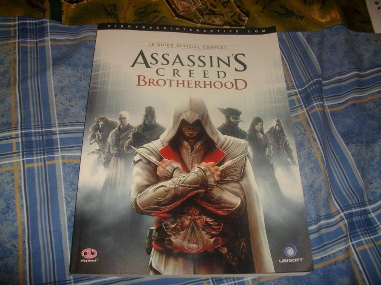 Assassin's Creed : Ma collection-Assassin's Creed Brotherhood Guide Officiel Complet
