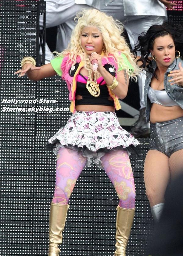 Nicki Minaj au Wireless Festival à Londres, en Angleterre. Samedi, 07 juillet