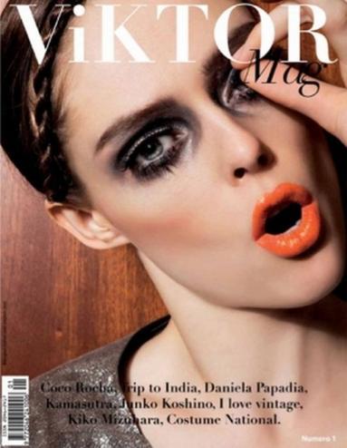 Coco Rocha pour ViKTOR Mag