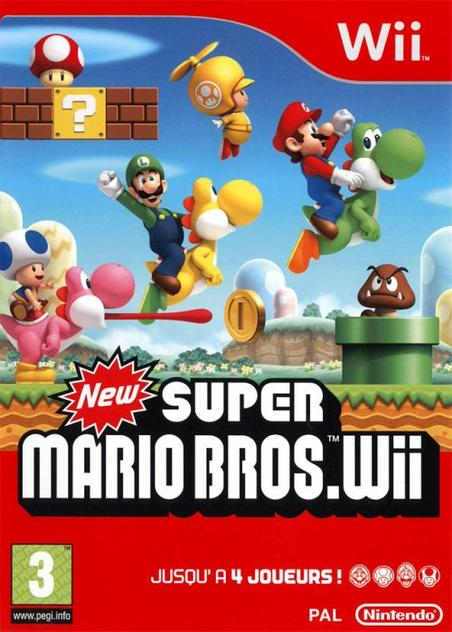 Test de New Super Mario Bross wii