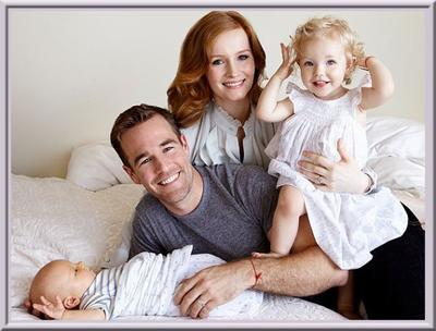 James Van Der Beek, un papa aux anges