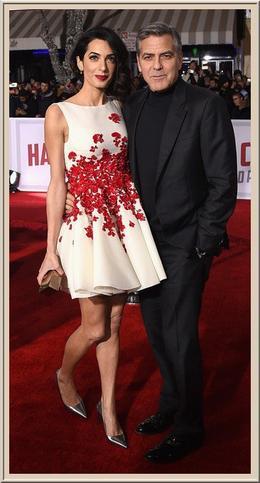 George Clooney, futur père