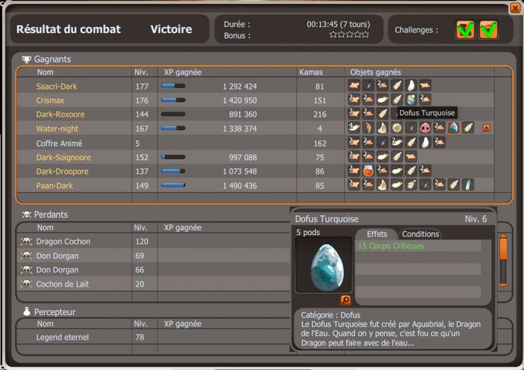 9 Dark Vlad = rien ... 1 Dragon Cochon = Tutu !
