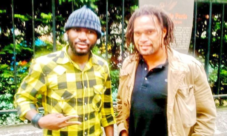 Stoy Ikin Et Christian Karembeu