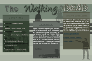 ► NETWORK-SERIES ◈ Article :  The Walking Dead________________✦ Newsletter ✦ Création ✦ Décoration ✦