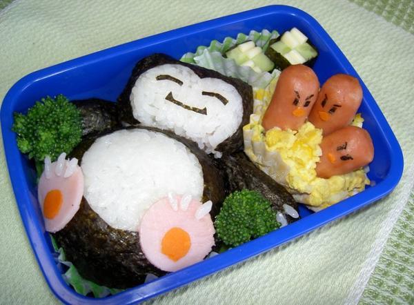 japonnn japonnnn vous mangeriez sa vous ? (moi ouii) bento, sushis,ramen