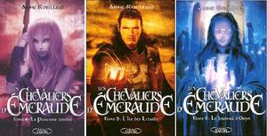 """Saga """"Les Chevaliers d'Émeraude"""""""