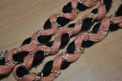 DIY: bracelet, collier, handband trésser