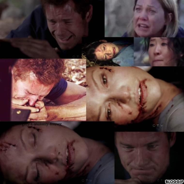 Lexie Grey ses derniers moments!