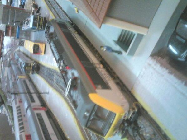 Notre loco électrique Ls Models série 18 qui vient de revenir de réparation