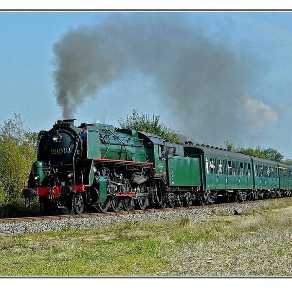 Locomotive vapeur type 26