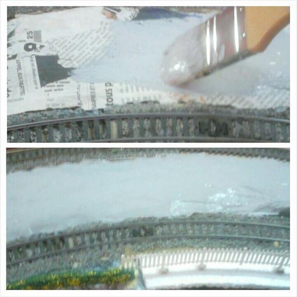 Peinturons le rief en gris avant de rajouter quelques petites améliorations (2)