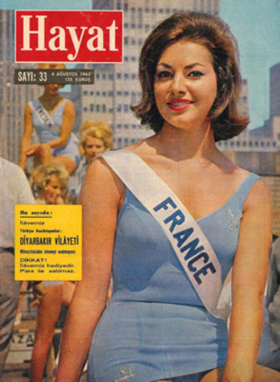Monique Lemaire (Miss France 1962)